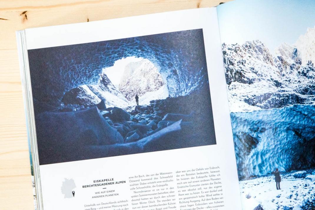 Die schönsten Reise-Bildbände 2017 für Weltenbummler und Reisende German Roamers Blick ins Buch