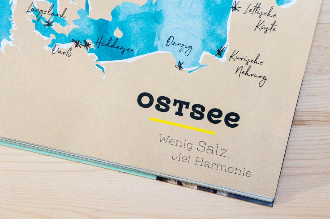 Die schönsten BIldbände 2017 für Weltenbummler und Reisende Meeresrauschen vom Glück am Wasser zu sein Dumont Blick ins Buch Detail