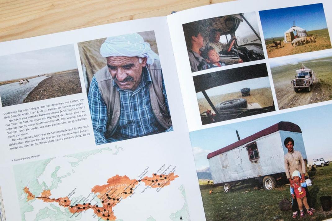 Die schönsten BIldbände 2017 für Weltenbummler und Reisende Off the Road Gestalten Verlag Blick ins Buch