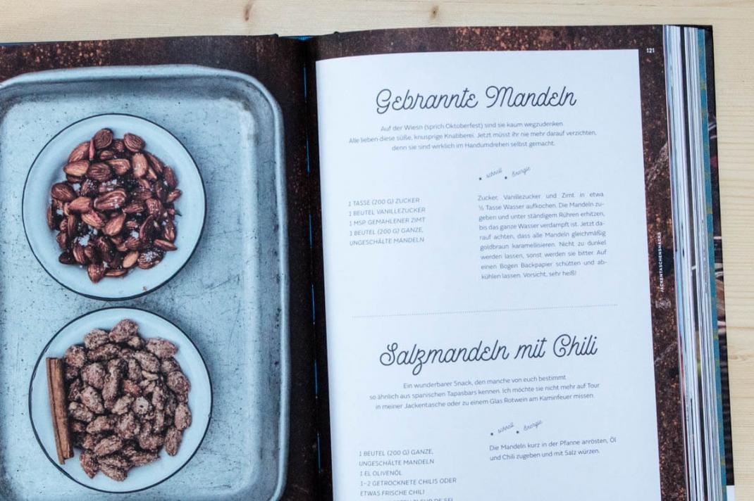 Die schönsten BIldbände 2017 für Weltenbummler und Reisende The Great Outdoors Winter Cooking Blick ins Buch