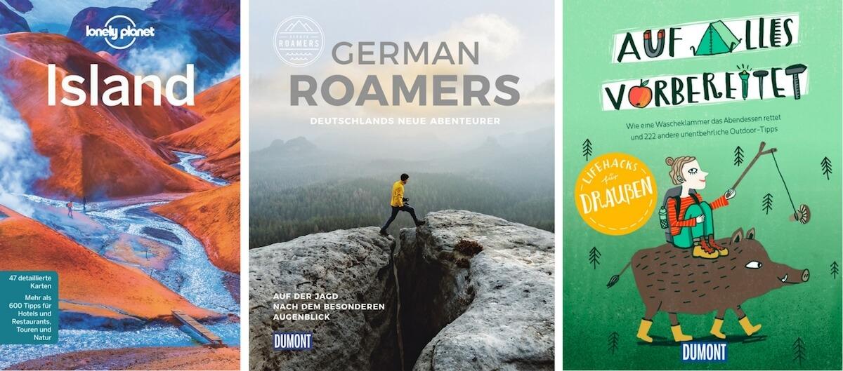 Lonely Planet Island German Roamers und Lifehacks für draußen Buchcover