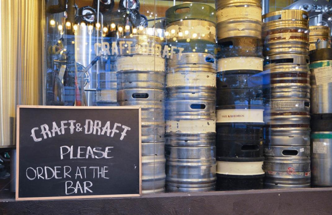 Vilnius-Tipps: Brauerei und Kneipe Craft and Draft