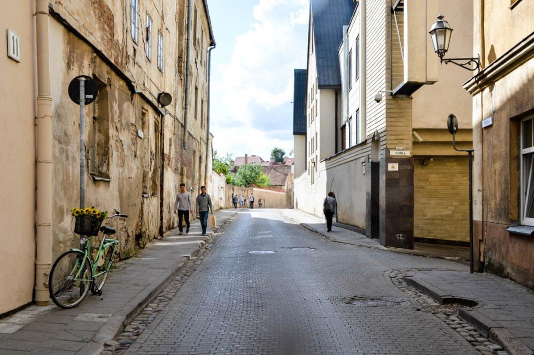Vilnius-Tipps: Straße in der Altstadt