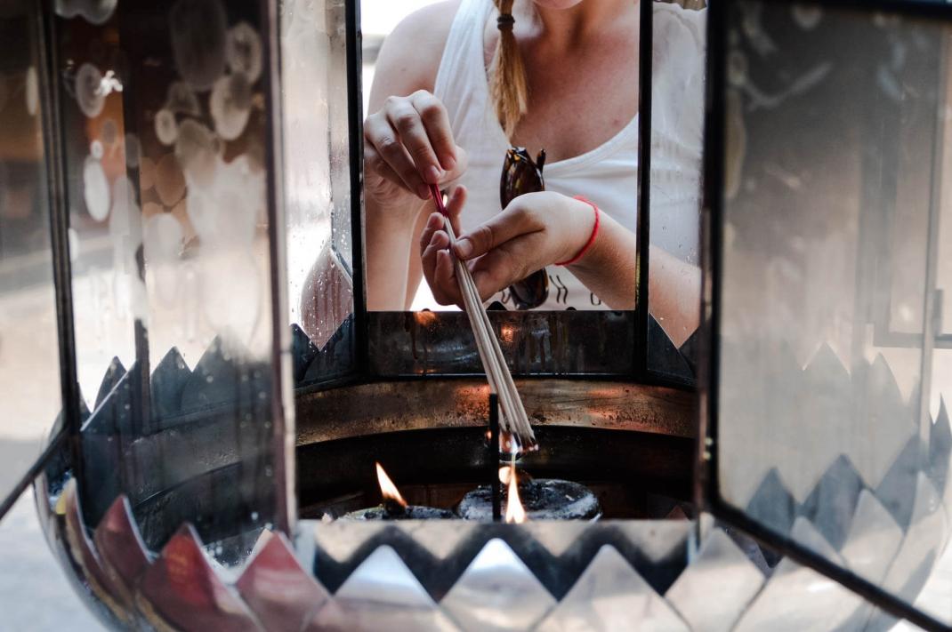 Alternative Städtereisen Chinesischer Tempel in Bangkok Chinatown
