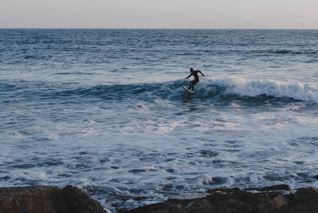 Surfer in Ventura Kalifornien