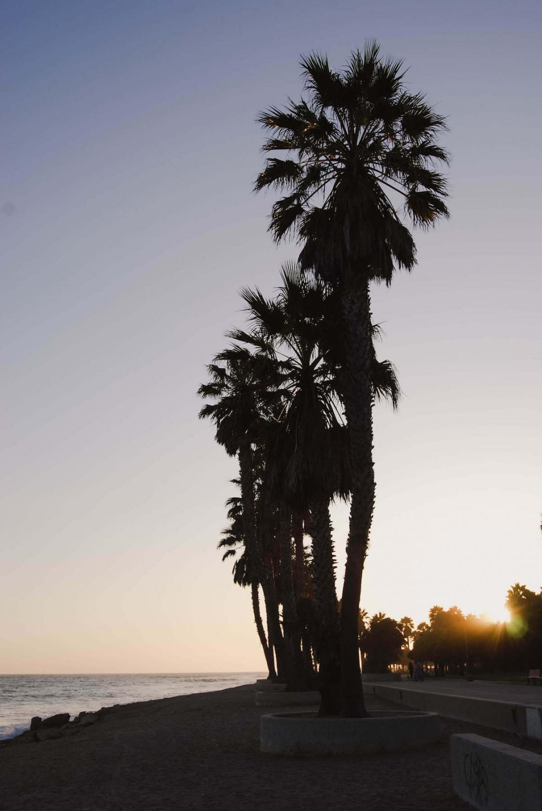 Sonnenuntergang in Ventura Kalifornien