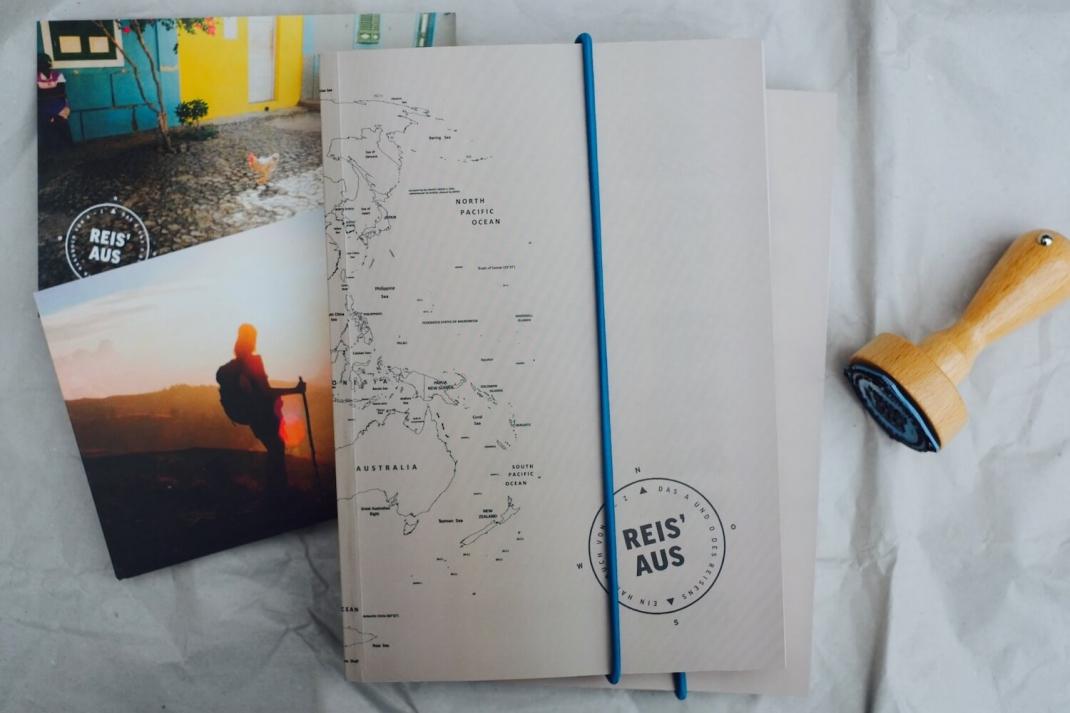 Geschenkidee für Reisefreunde Globetrotter Weltenbummler Reisehandbuch Reis aus Weihnachten Geburtstag Hochzeit