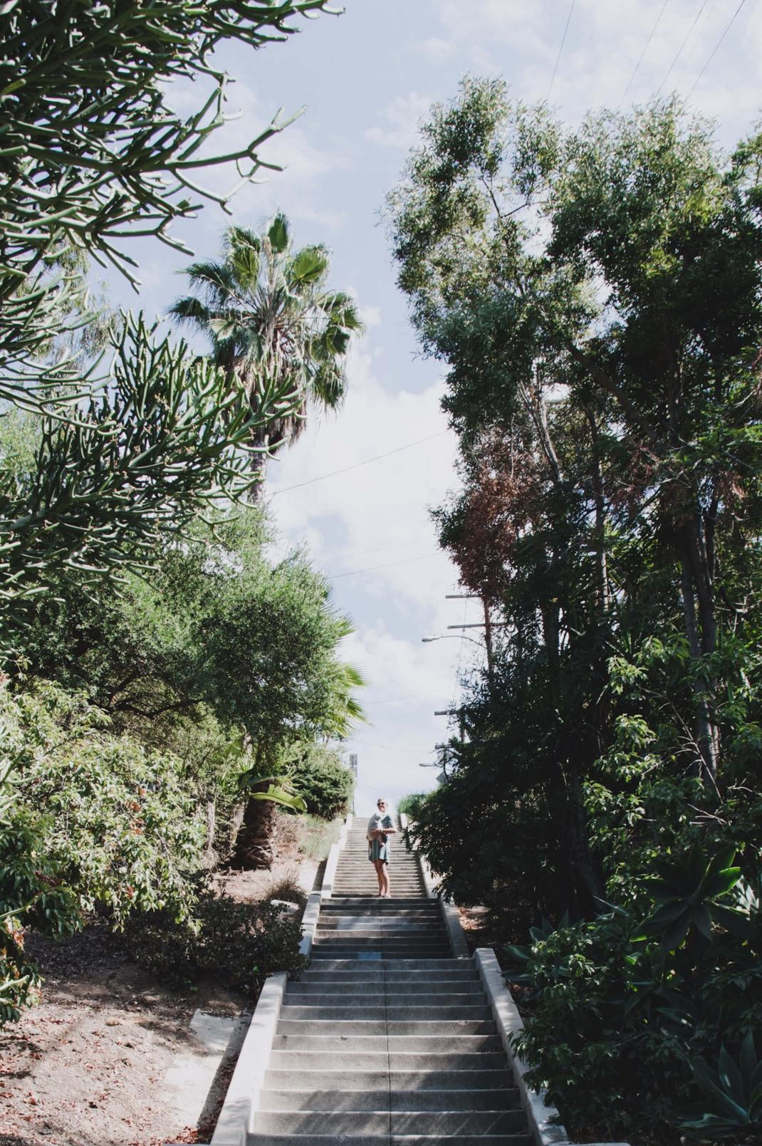 Geheime Treppen von LA Silver Lake Los Angeles für Fußgänger