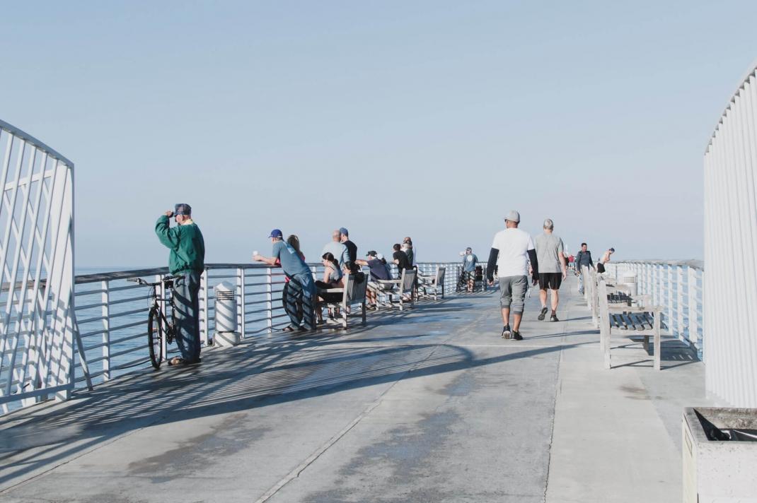 Hermosa Beach Los Angeles Pier