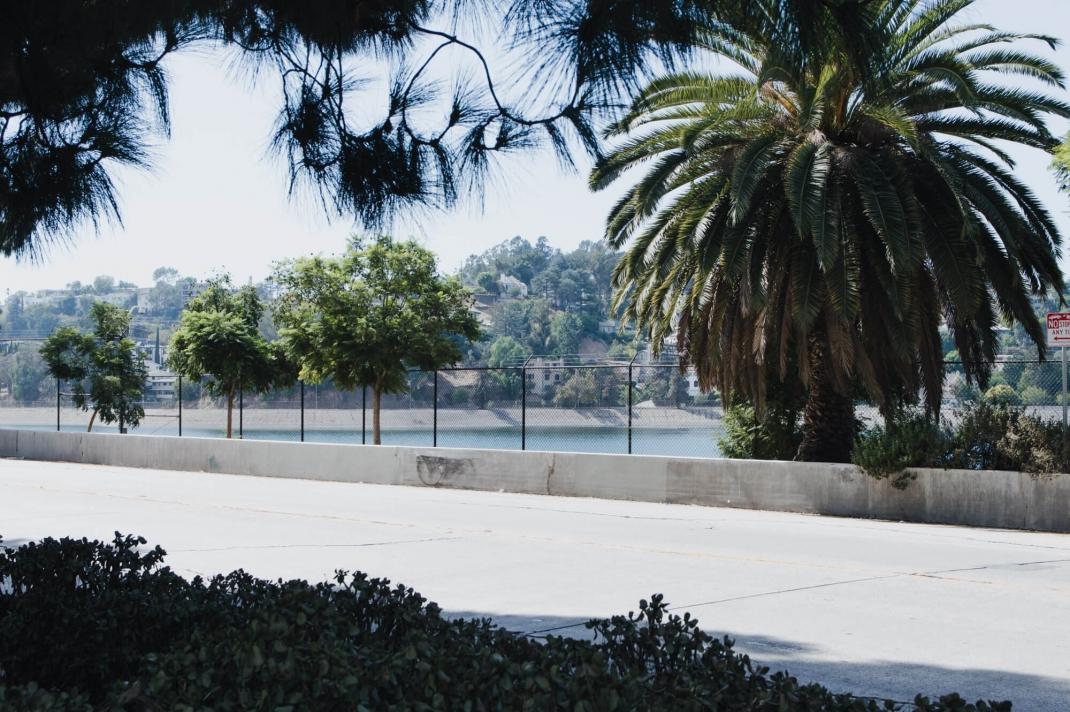Silver Lake Los Angeles See in der Stadt Tipps zum Spazierengehen in LA