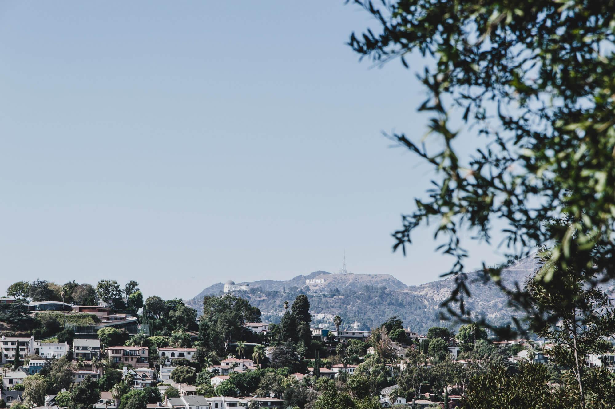 Los Angeles Tipps und Geheimtipps für den Städtetrip Blick auf das Hollywood Sign von Silver Lake