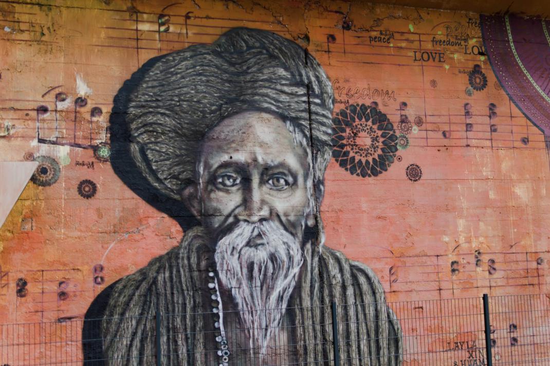 Köln Street Art Guide CityLeaks Festival Mural mit Hindu