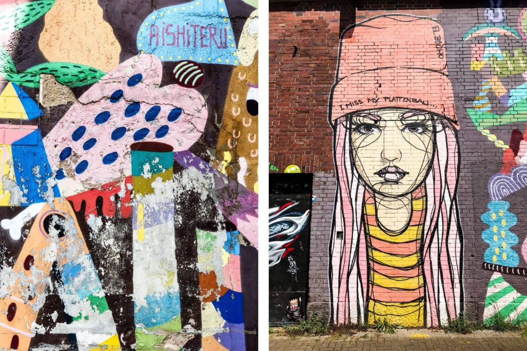 Köln Street Art Guide CityLeaks Festival Murals