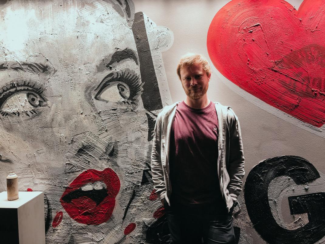 Köln Street Art Guide Seileise Tim Ossege im Lindner Hotel City Plaza