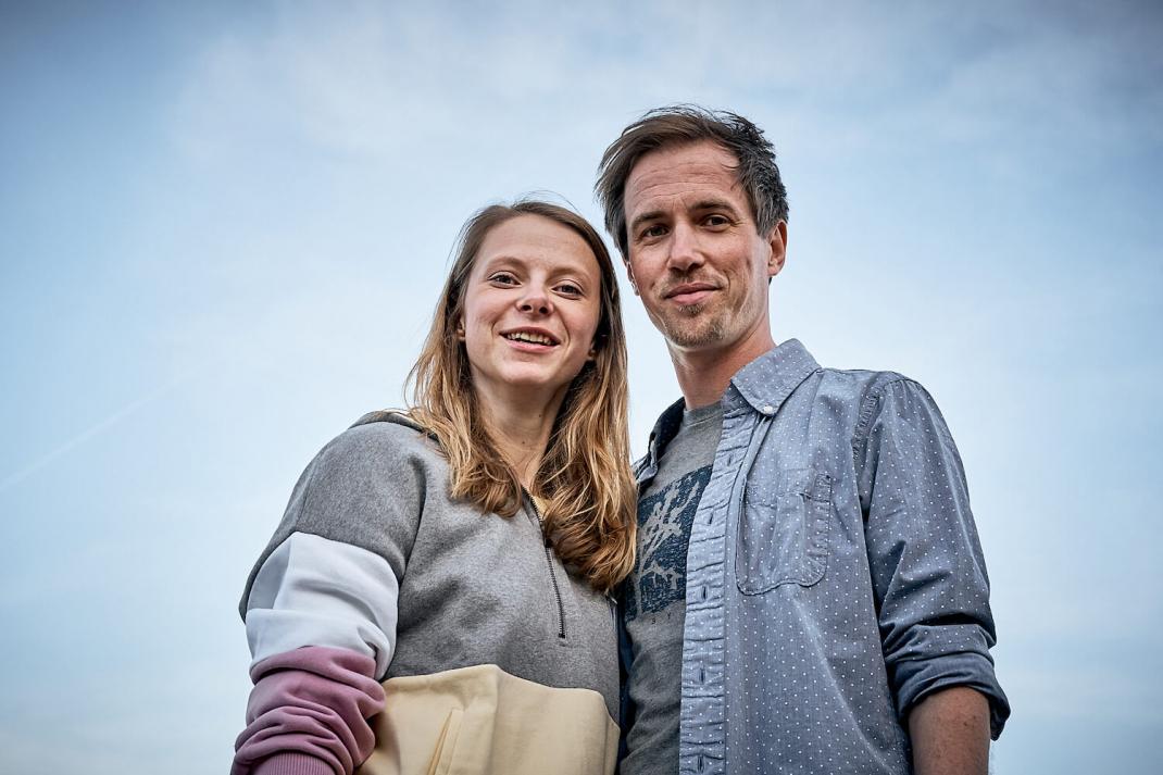 Larissa Peters und Bastian Gembler sind die Gründer des Campervanverleihs Vantopia aus Hamburg