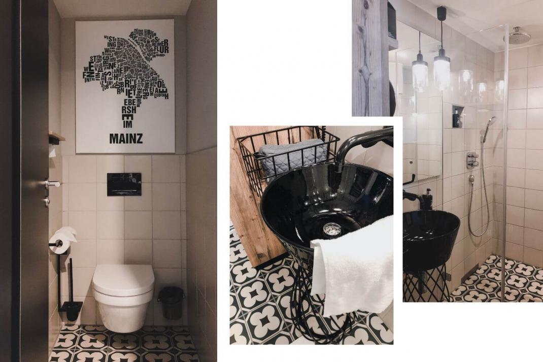 Hoteltipp Mainz me and all Hotelempfehlung Toilette und Badezimmer