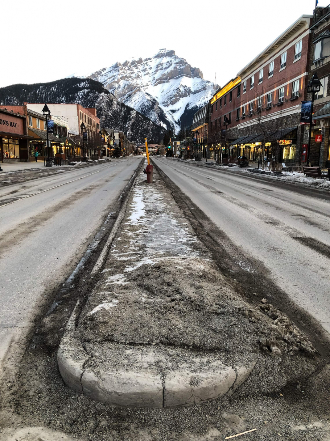 Winterurlaub in Kanada Banff Town