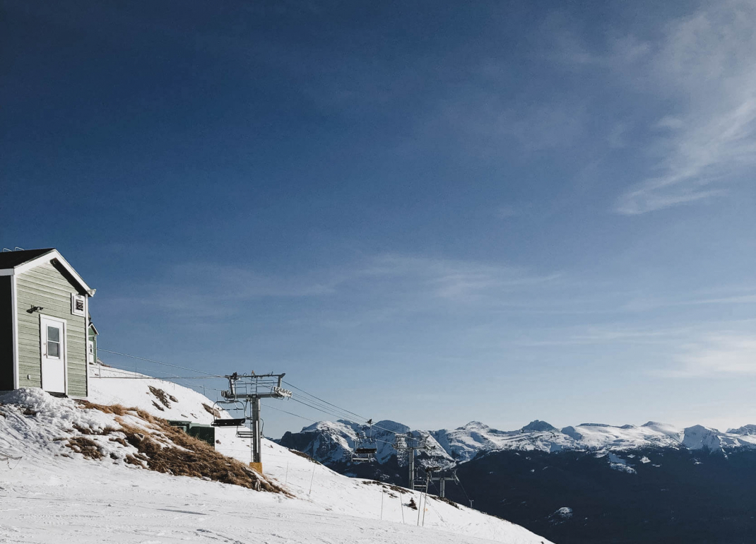 Das kostet der Skiurlaub in Kanada Paradise Sessellift