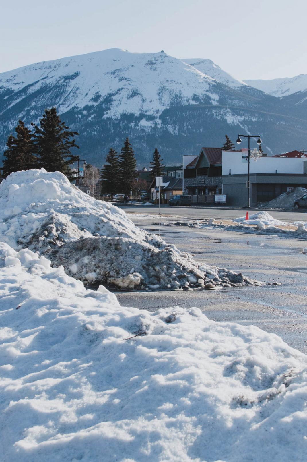 Das kostet der Skiurlaub in Kanada Straße in Jaspertet der Skiurlaub in Kanada Straße in Jasper