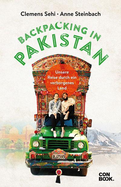 Buchcover Backpacking in Pakistan, © CONBOOK Verlag