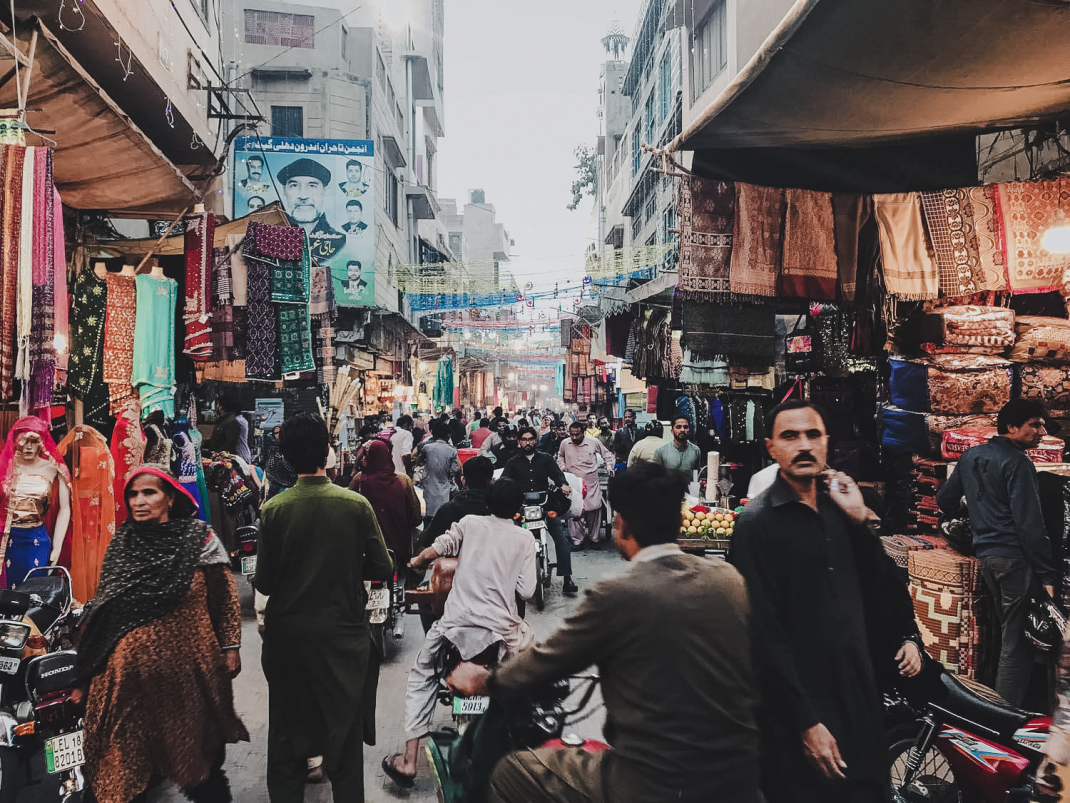 Markttreiben in Peschawar, Pakistan